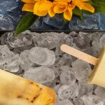 Grilled Pineapple & Coconut Popsicles