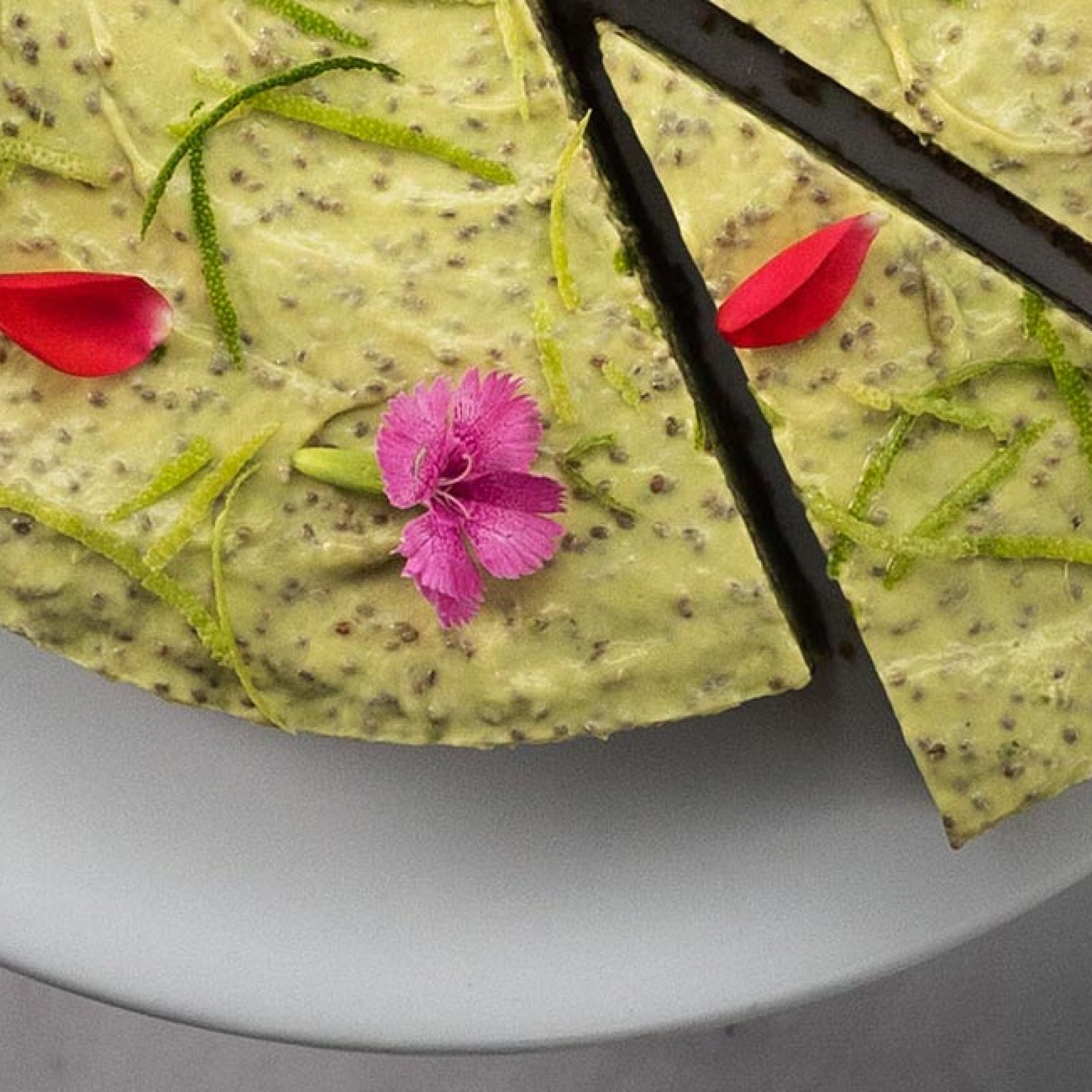Raw Avocado & Lime Cheesecake Recipe