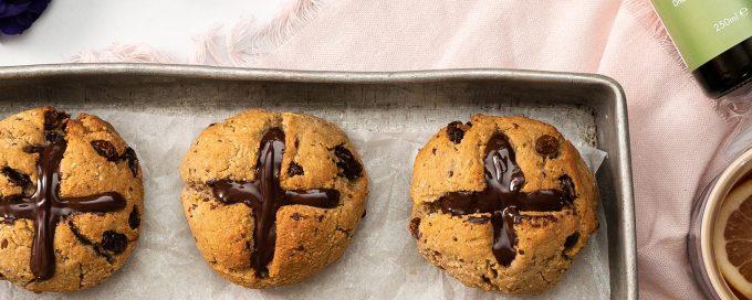 Vegan Gluten Free Hot Cross Buns Recipe