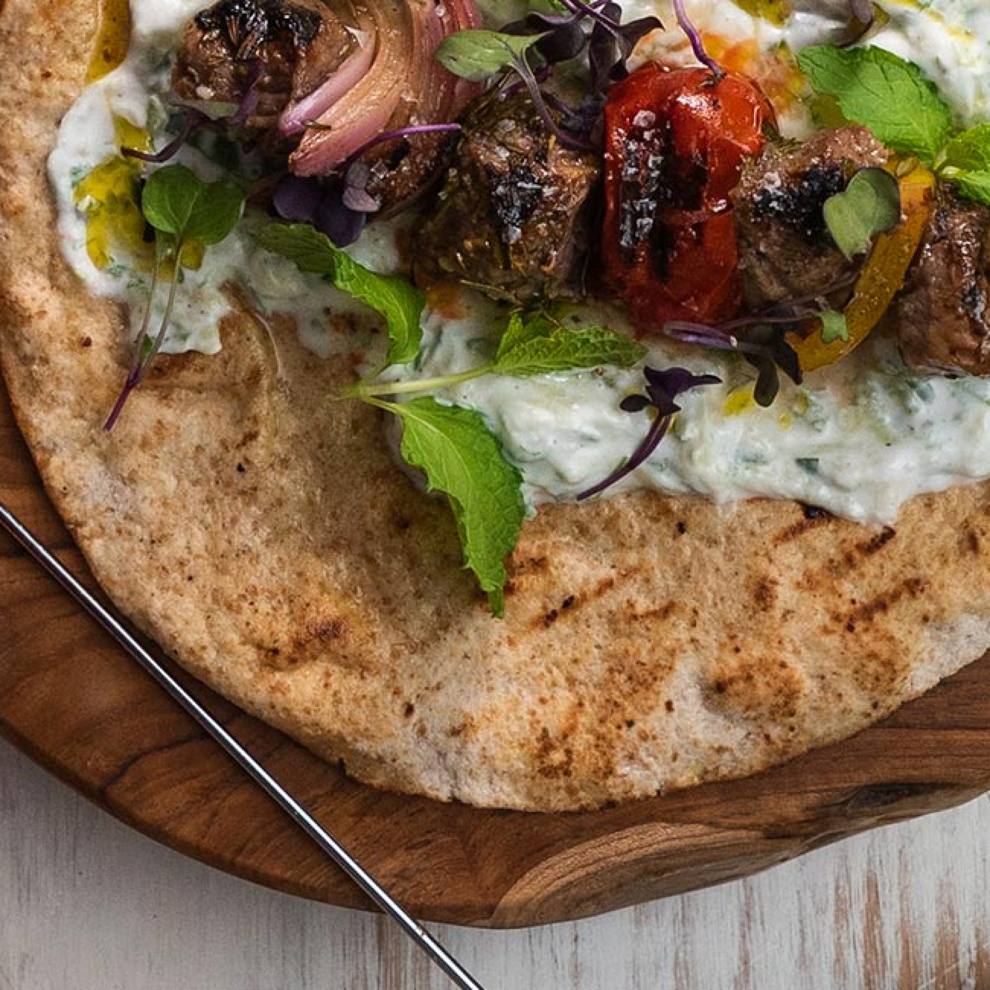 Lamb Souvlaki Kebabs Recipe