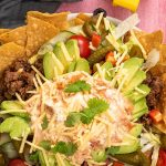 Loaded Beef Nacho Salad Recipe