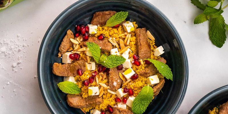 Moroccan Lamb Bowls Recipe