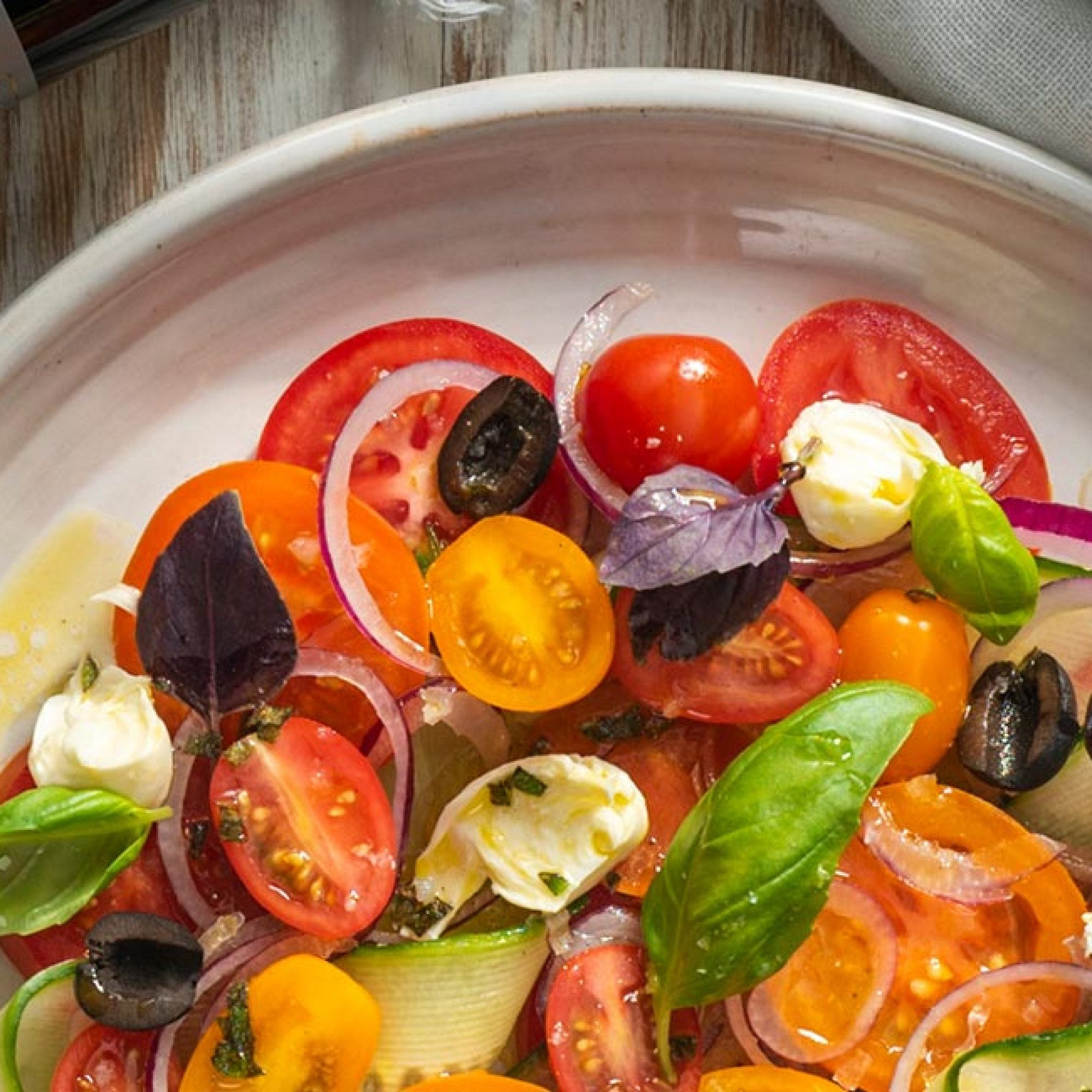 Rainbow Tomato Salad Recipe