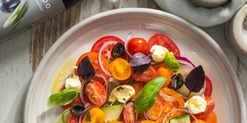 Rainbow Tomato Salad Recipe