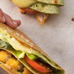 Chicken Bacon Tortilla Melt Recipe