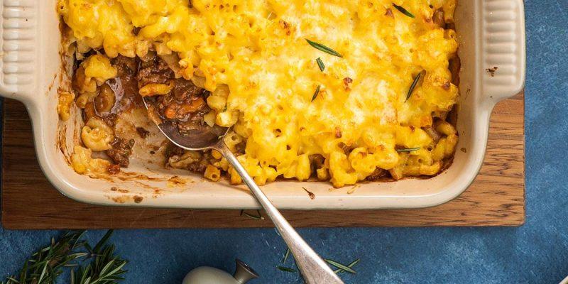 Macaroni Cheese Cottage Pie Recipe