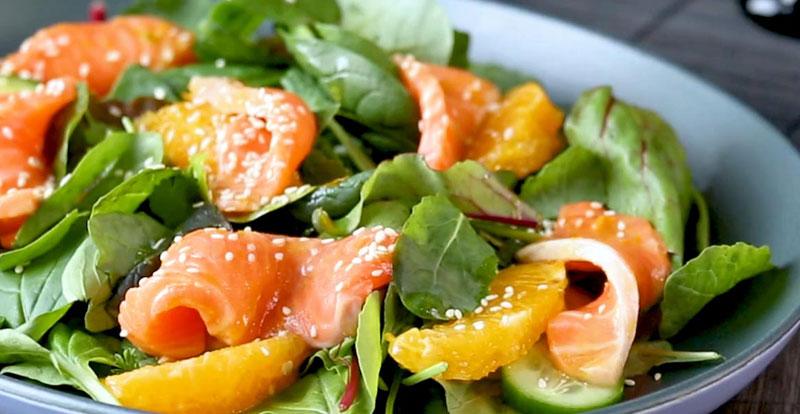 Salmon Sashimi seafood recipes