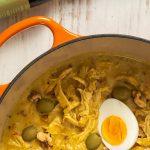 Peruvian Creamy Chicken Stew (Aji De Gallina) Recipe