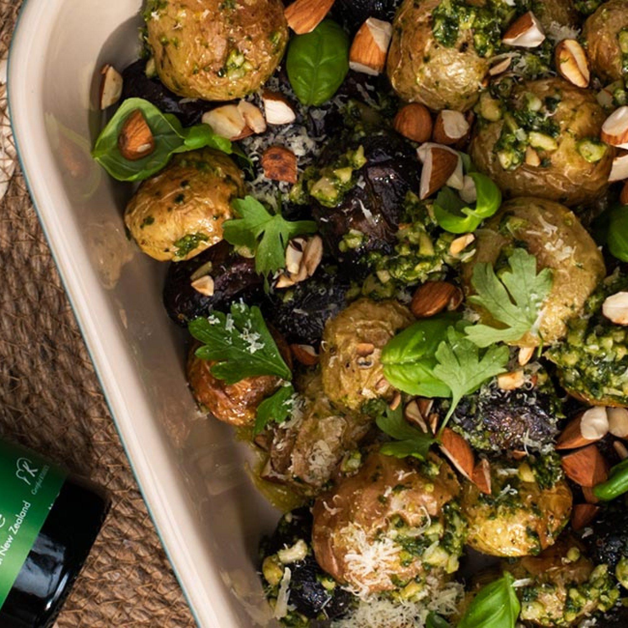 Pesto Potatoes Olivado Recipe