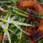 Roasted Asparagus Salad with Butternut Squash