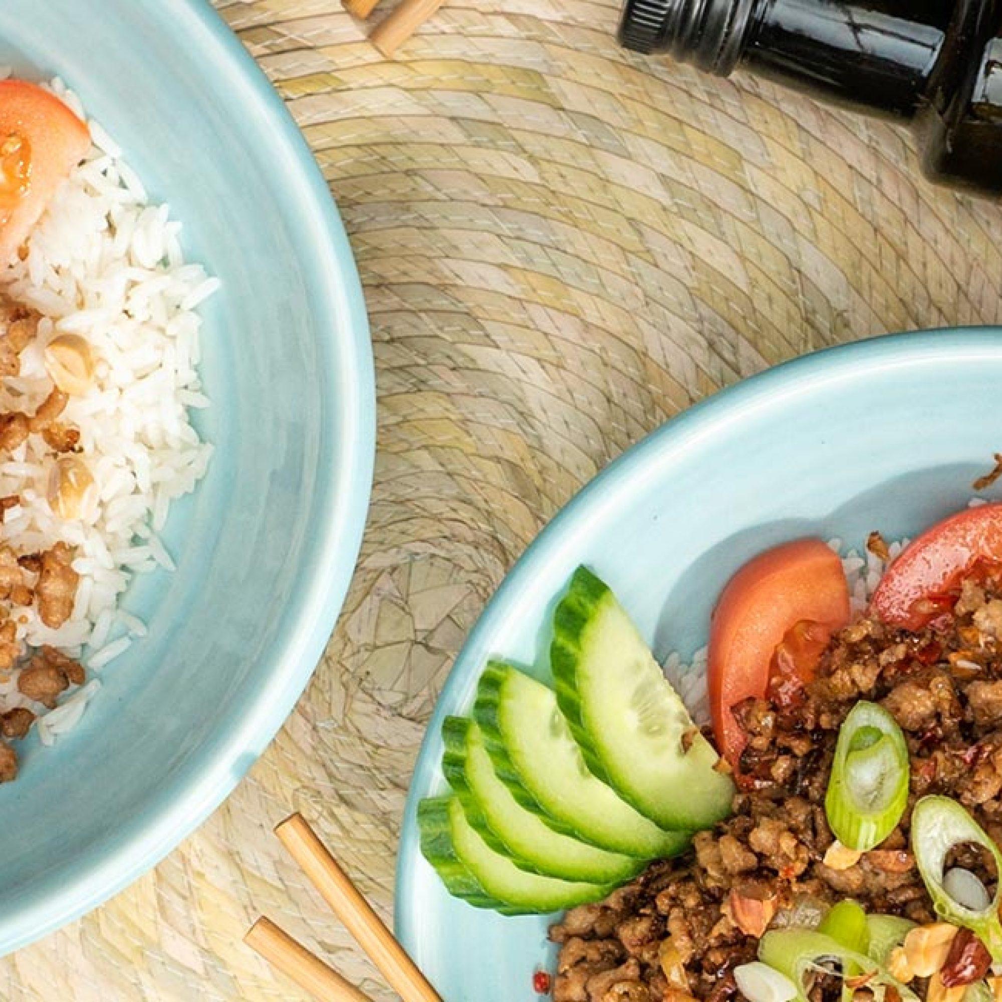 Vietnamese caramel pork bowls recipe