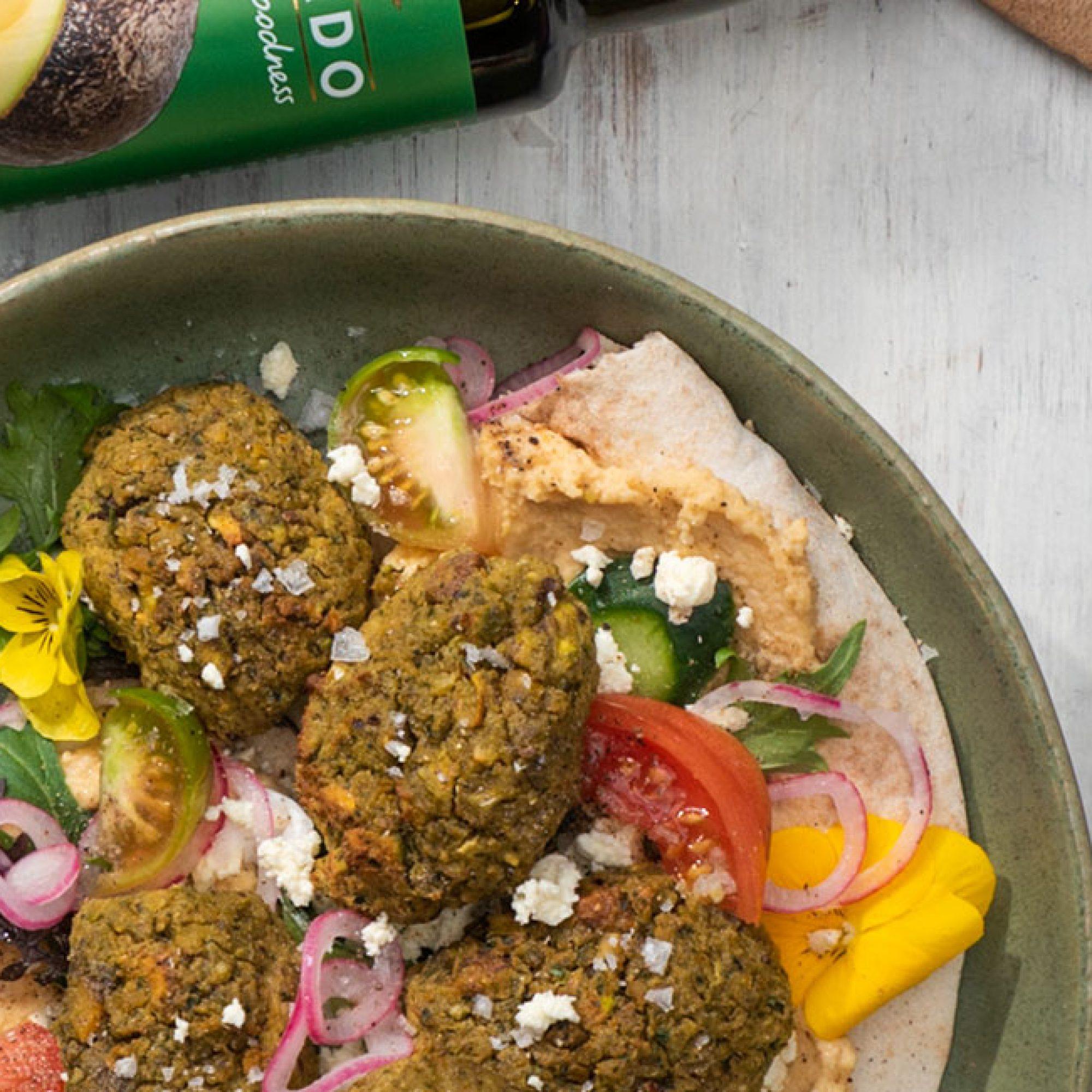 Pistachio falafel recipe