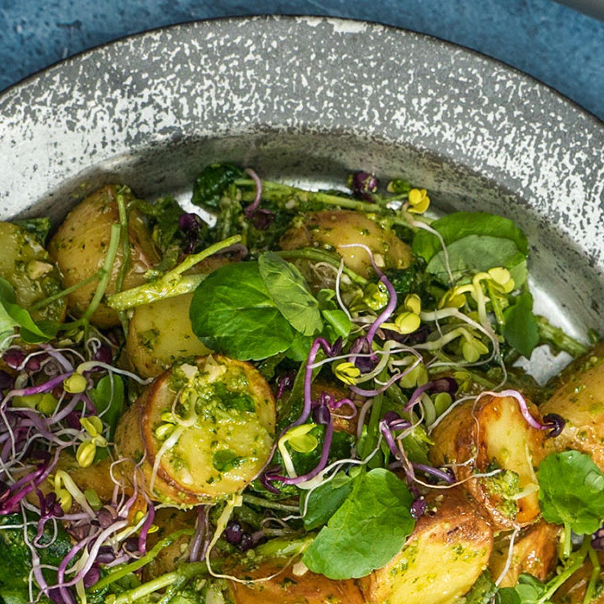 Green Goddess Roasted Potato Salad Recipe